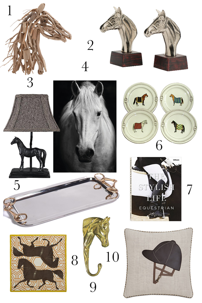 gift ideas for the equestrian home