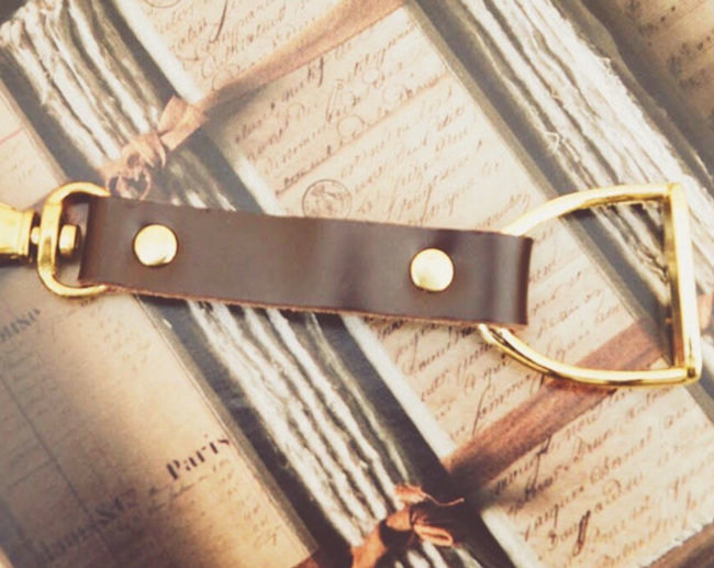 stirrup key chain