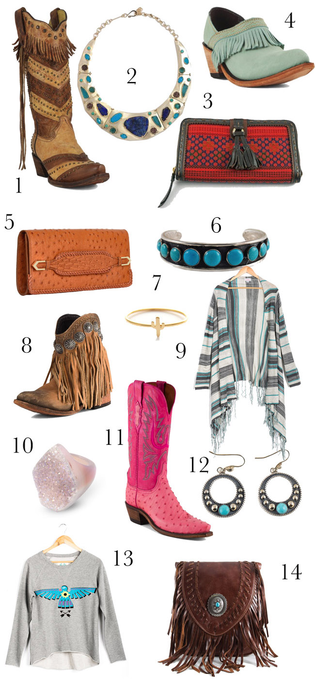 western holiday gifts for the cowgirl