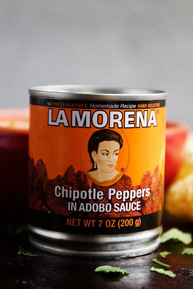 La Morena Chipotle Peppers in Adobo
