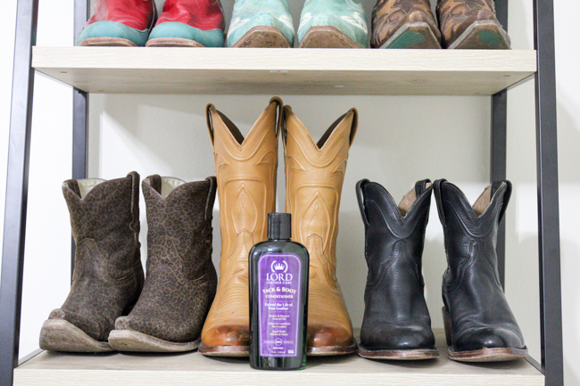 Condition Your Boots with Lord Leather Care