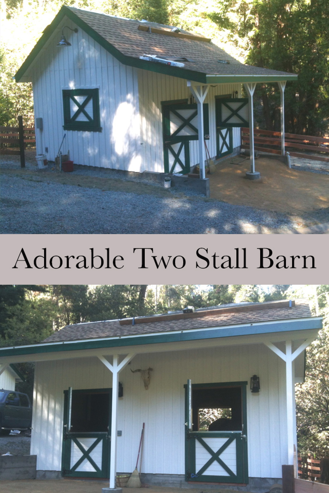 Stable Style: Two Stall Barn