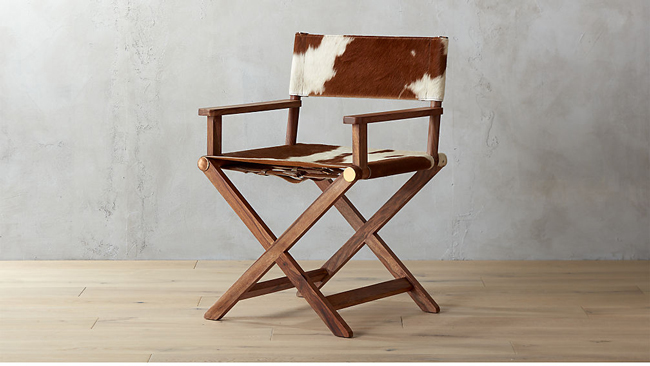 New Cowhide Furniture from CB2