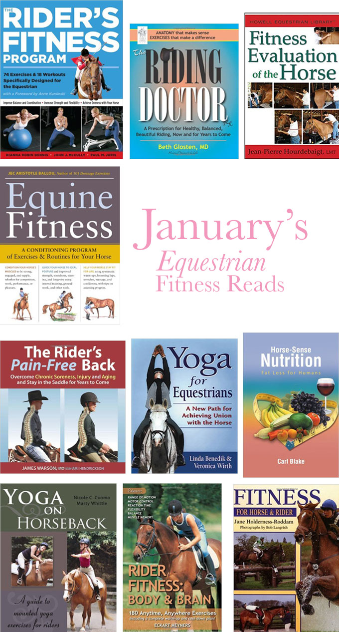 Equestrian fitness books for the horse and rider