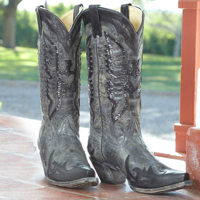 Black Eagle cowboy boots