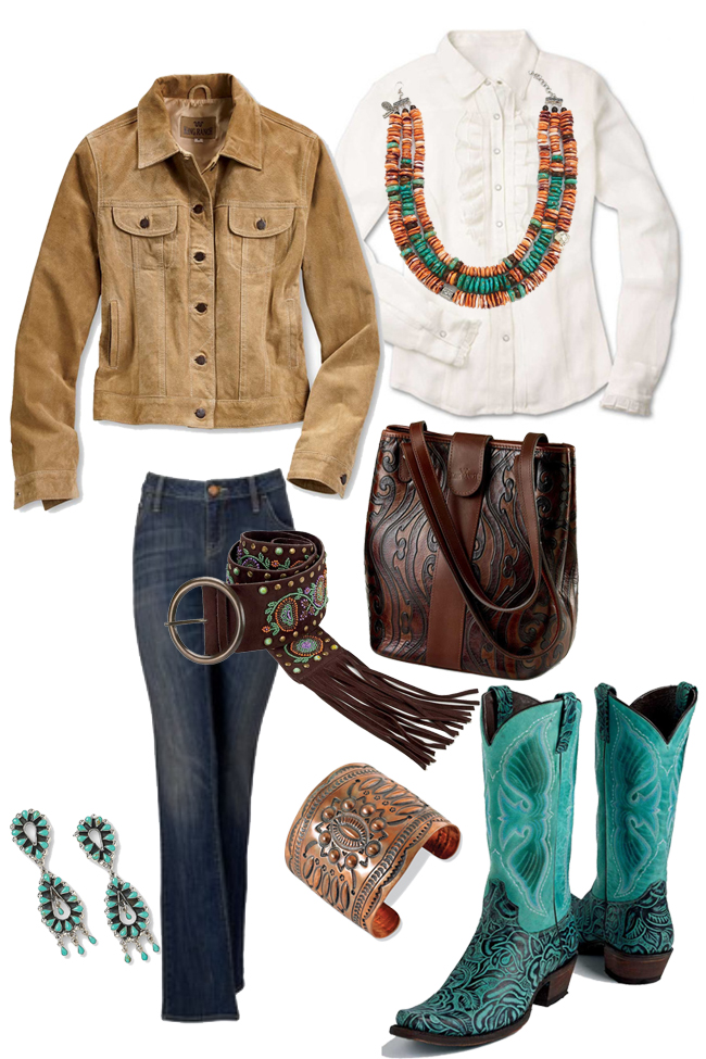 King Ranch rodeo chic outfit