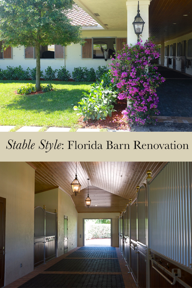 Stable Style Flordia barn renovation