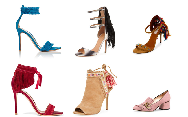I Have a Crush: Fabulous Fringe High Heels