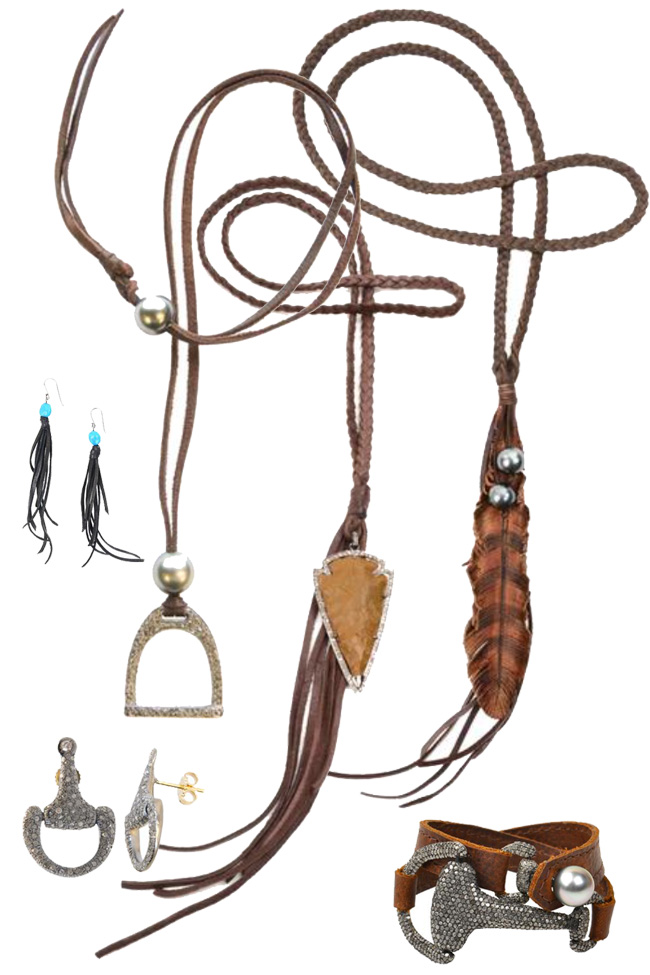 western and equestrian jewelry by Vincent Peach