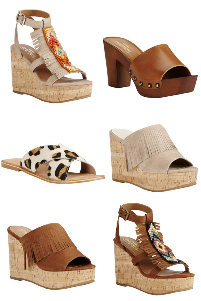 6 pairs of summer shoes from Ariat