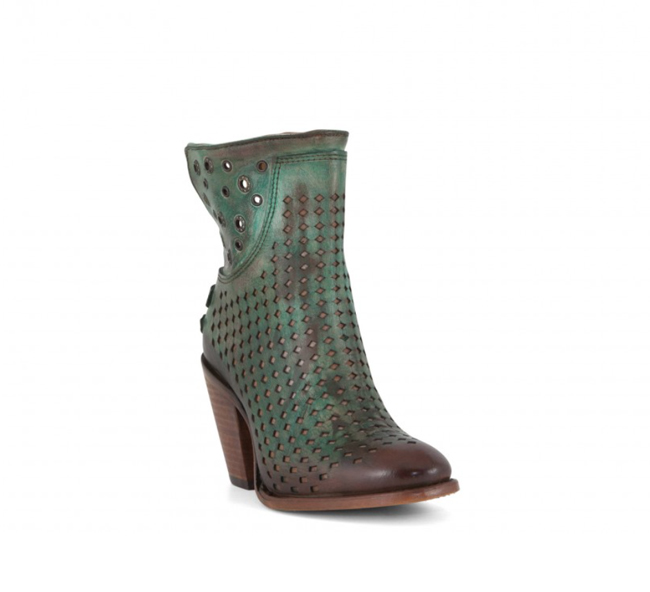 Corral turquoise and brown boots