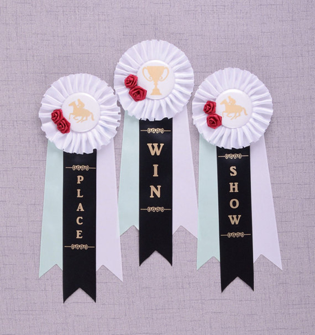 horse show ribbon favors