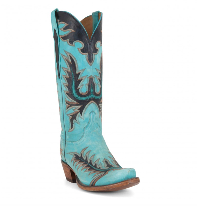 Lucchese Classics in turquoise