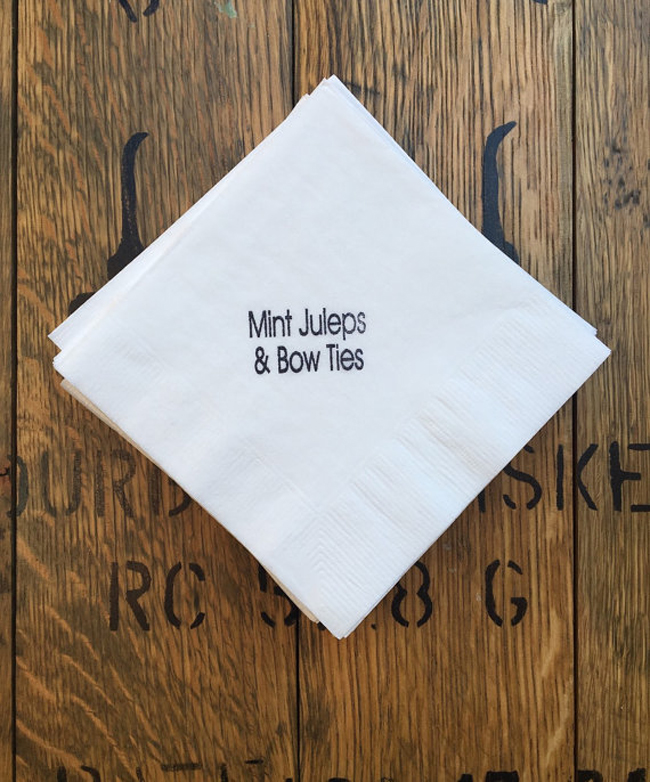 Mint Juleps and Bow Ties