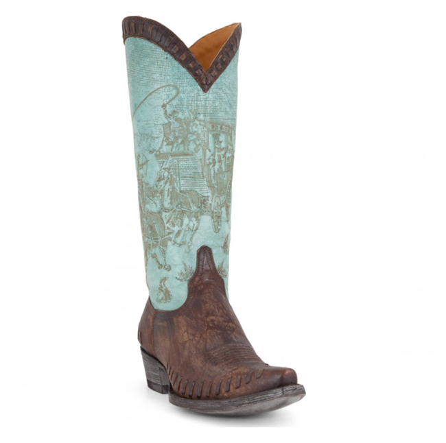Old Gringo Stagecoach cowboy boots