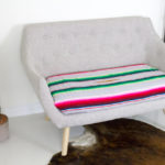 My DIY Serape Couch