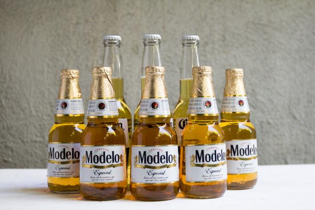 Modelo and Corona beer