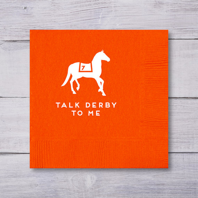 Talk Derby To Me Napkins