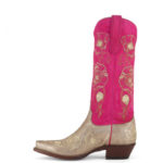 Pretty Pink Cowboy Boots
