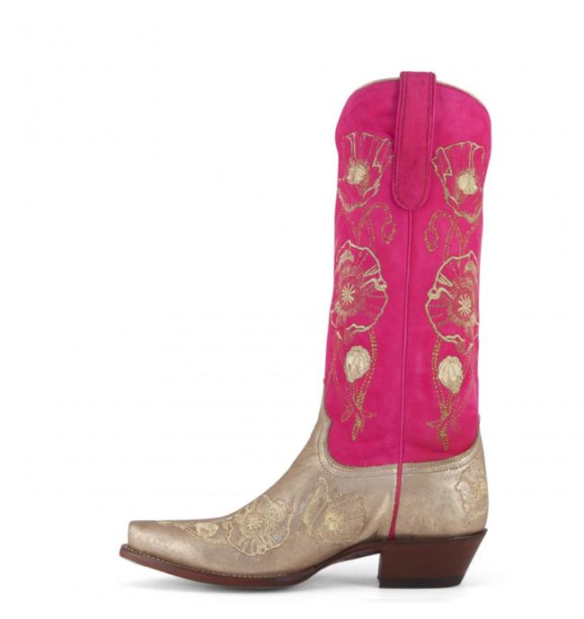 Pretty Pink Cowboy Boots
