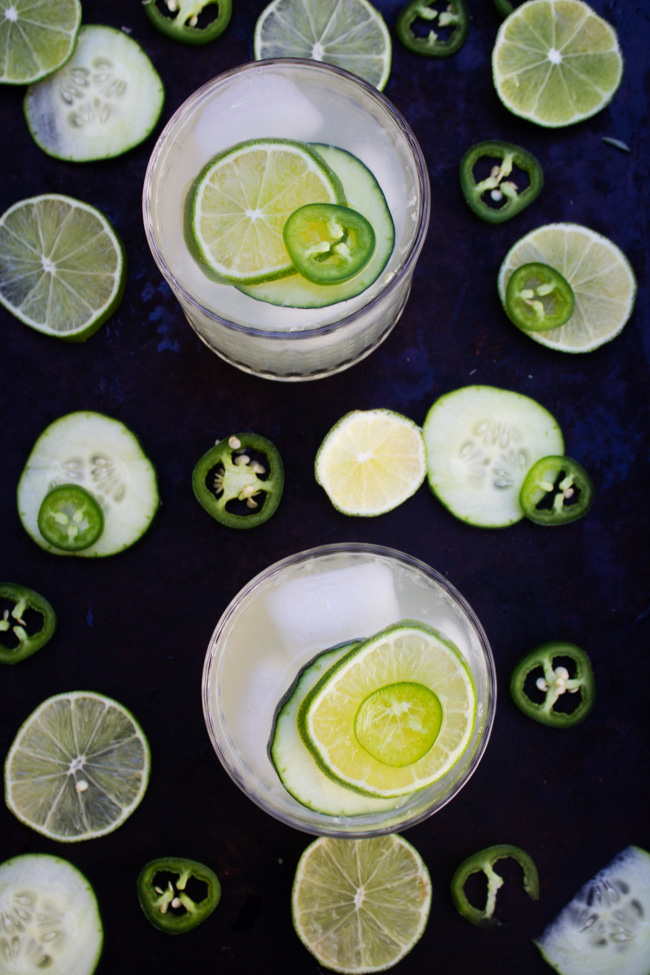 Cucumber Jalapeno Limeade beverages