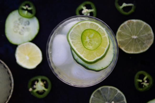 Cucumber Jalapeno Limeade
