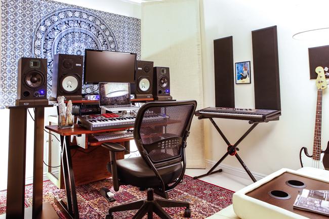 home studio for recording