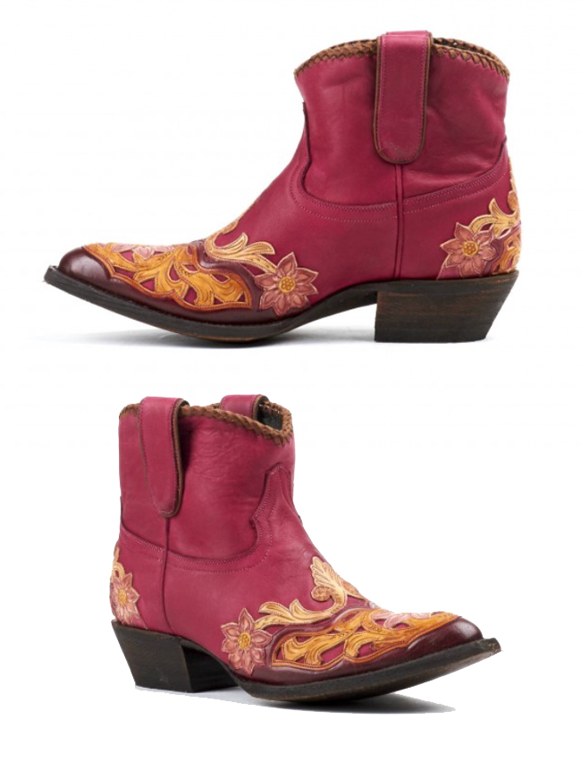 Liberty Boot Vicky in pink