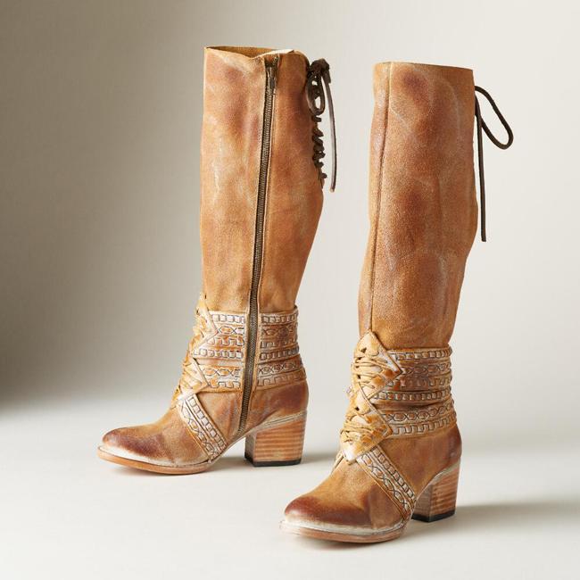 Mayan Tall Boots
