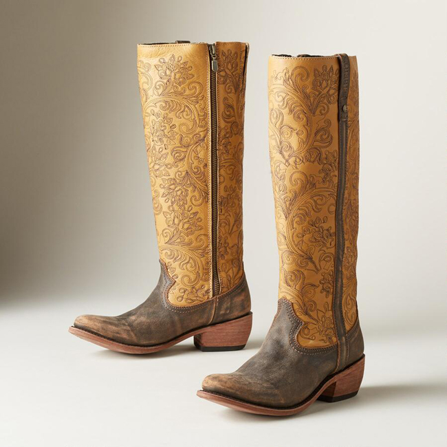 Cowboy Boots: Tall & Ready for Fall