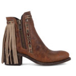 Fringe Ankle Boots by Corral