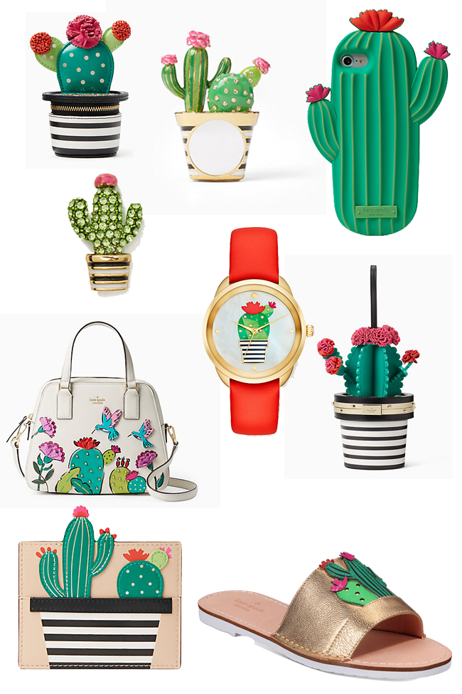 cactus crushes from Kate Spade