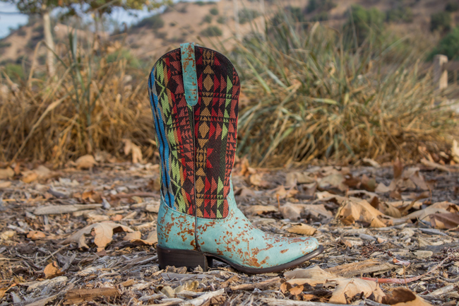 Coquette cowboy boot by FM 1101