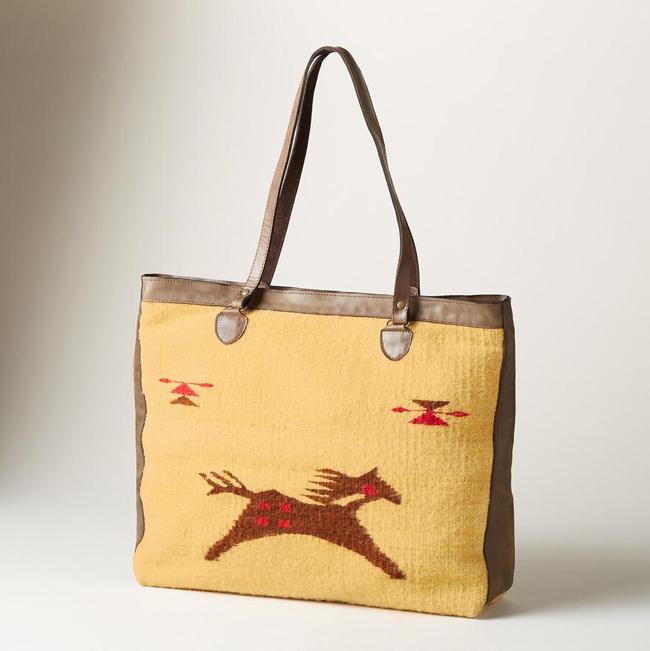 Wild horse wool bag