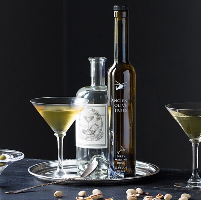 aged martini elixir