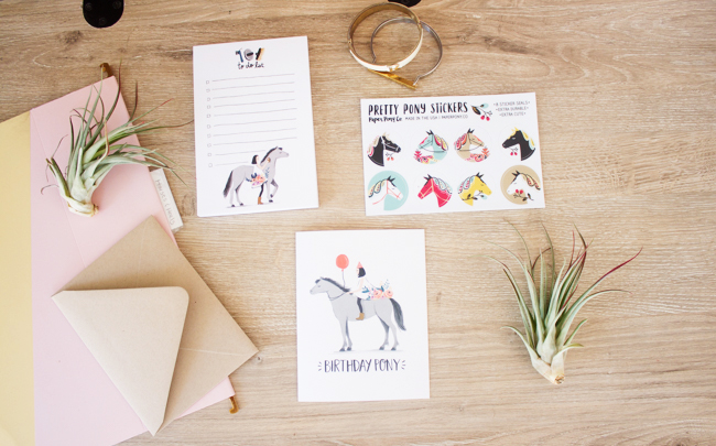 Paper Pony Co. cards