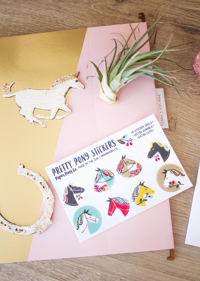 Paper Pony Co. stickers
