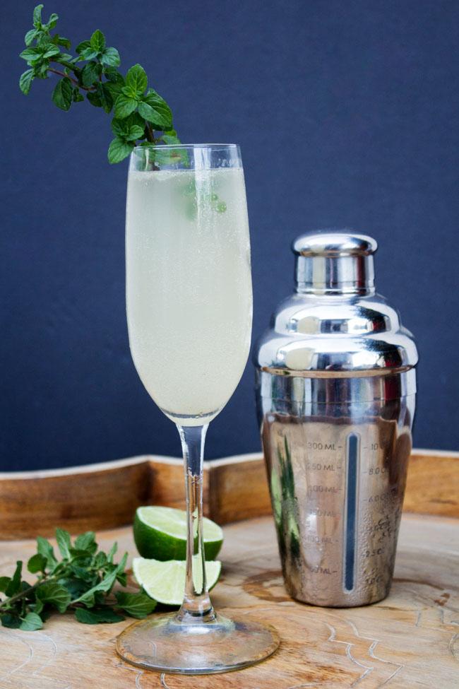 Grey Goose Le Fizz cocktail