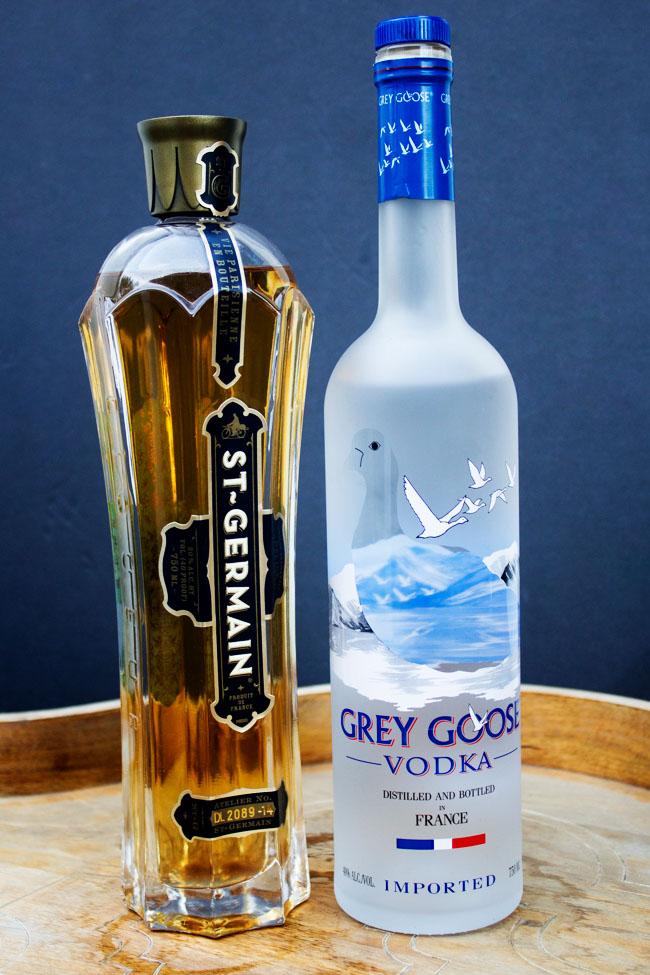 Grey Goose Vodka and St. Germain