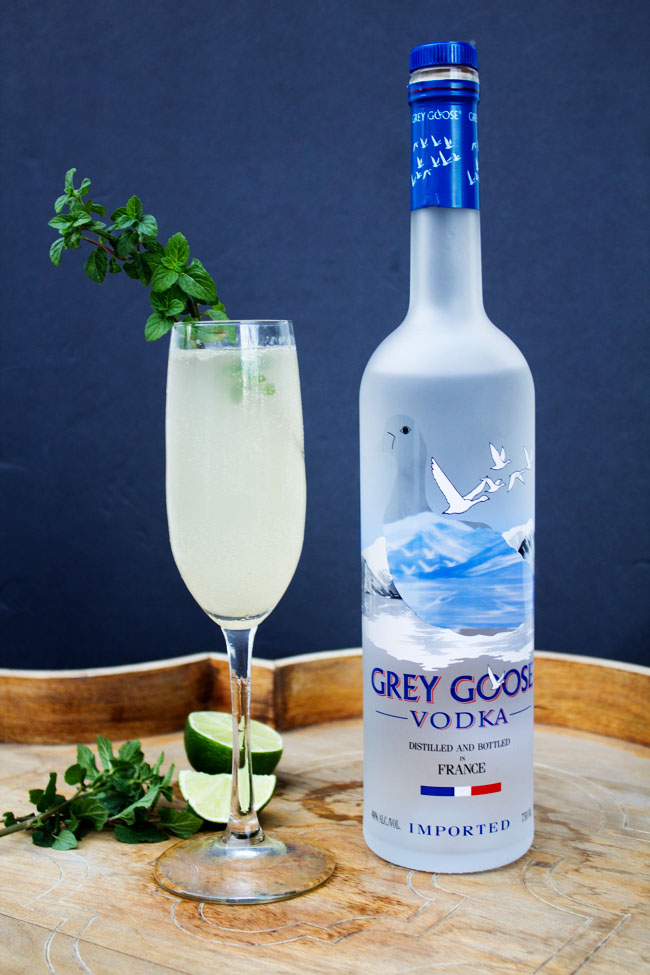 Grey Goose Le Fizz A Holiday Cocktail Horses Heels