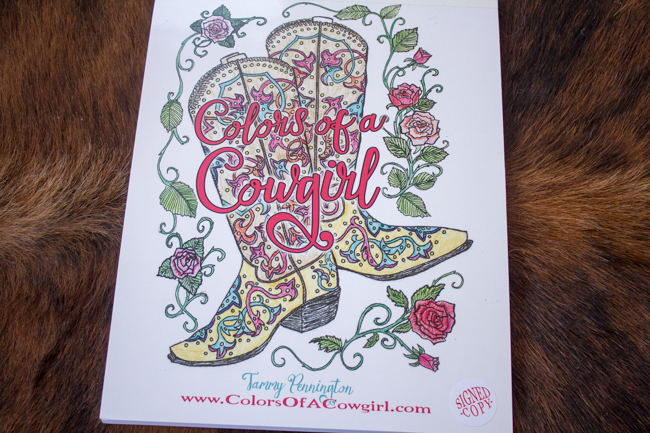Colors Of A Cowgirl: Your New Favorite Coloring Book