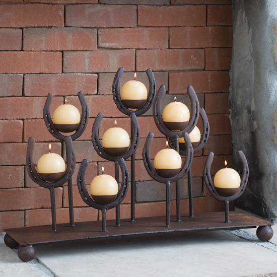 5 Horseshoe Candle Holders You Need