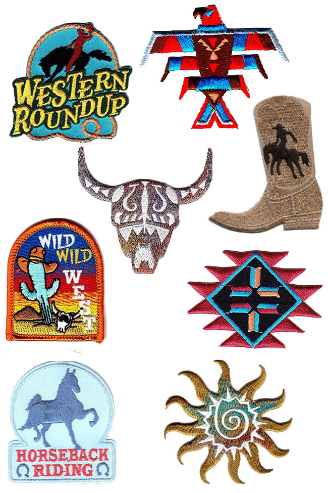 western patches