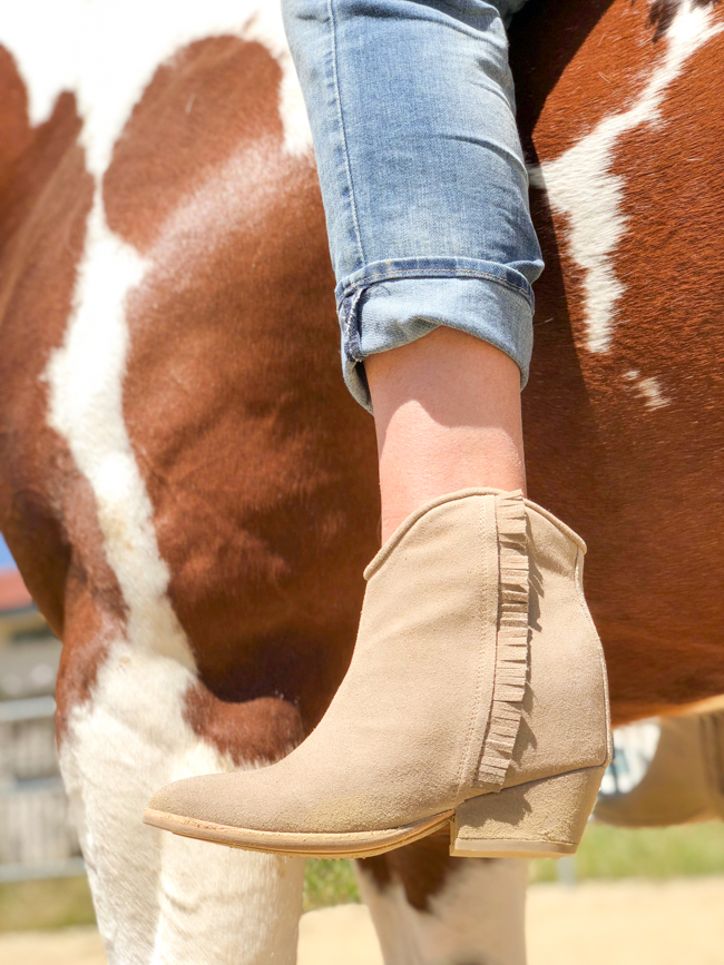 Ariat Two24 Fender booties with fringe