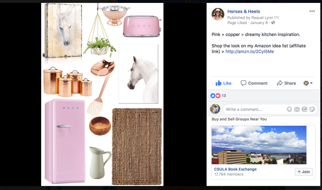 how to add amazon affiliate links to instagram